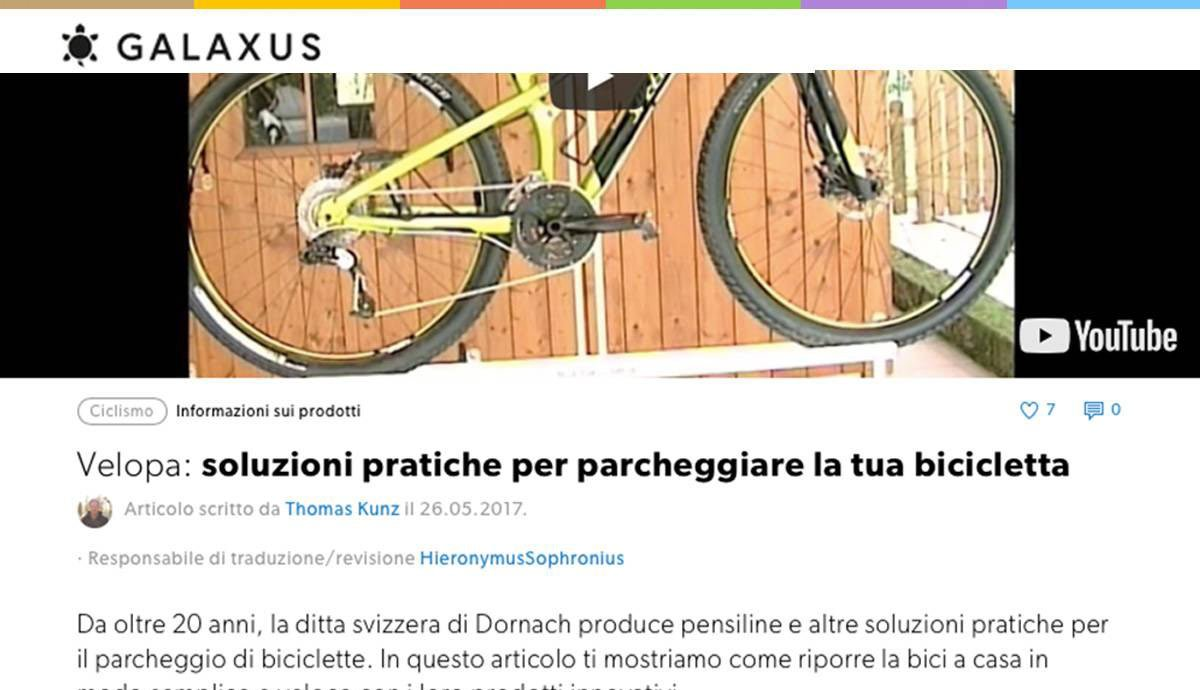 Swiss German to Swiss Italian | Digitec Galaxus | Tech Bicycle Parking Solutions