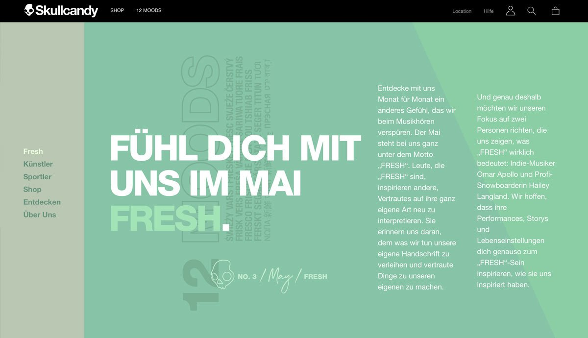 English to German   Skullcandy   Website